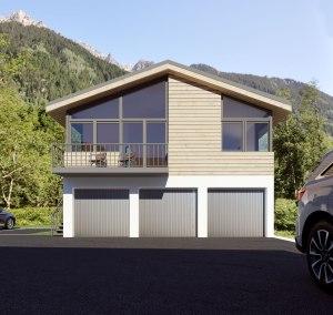 3D facade A